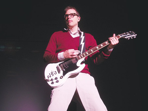 Rivers Cuomo, being all god-like - COURTESY PHOTO