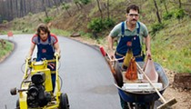 Road to Nowhere: Paul Rudd and Emile Hirsch drive 'Prince Avalanche'