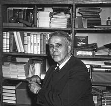 Robert Frost at Rosengren's Books - COURTESY