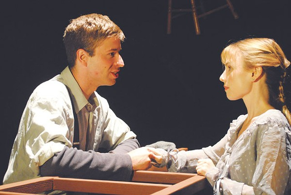 Rusty Thurman and Heather Manly in the Vex's production of Our Town. - COURTESY PHOTO