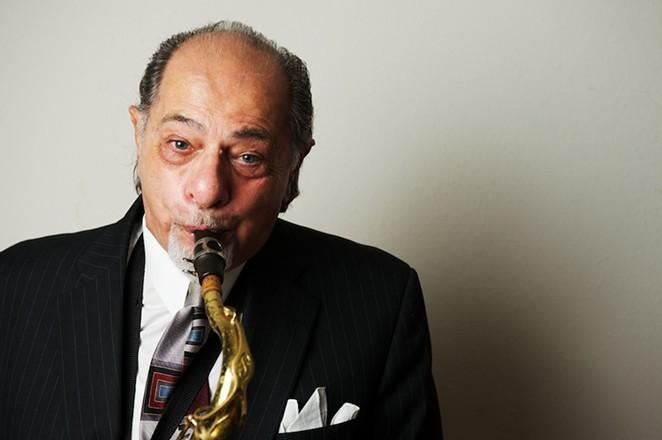 SA saxophonist John Magaldi - DACBERT STUDIOS