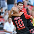 SA Scorpions beat Edmonton in stoppage time: 2-1