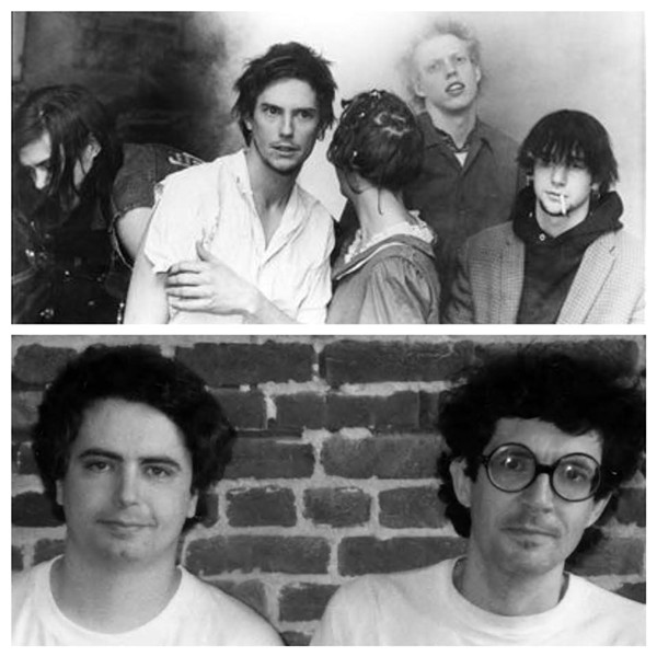 Butthole Surfers/Daniel Johnston and Jad Fair - COURTESY