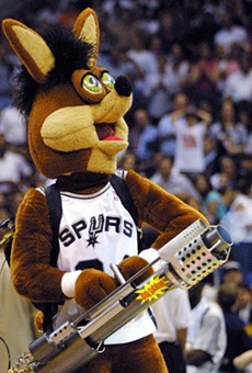 San Antonio: Home of the T-Shirt Cannon