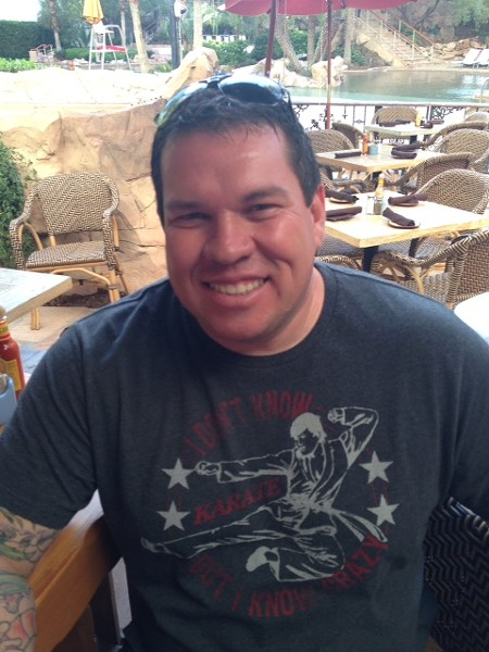 Pete L. Gonzales, owner of 210 Kapone's, was early killed Sunday morning by one of the nightclub's patrons. - COURTESY