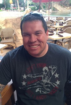 Pete L. Gonzales, owner of 210 Kapone's, was early killed Sunday morning by one of the nightclub's patrons.