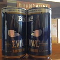 SA's Branchline Brewing to Offer Evil Owl in Cans this Spring