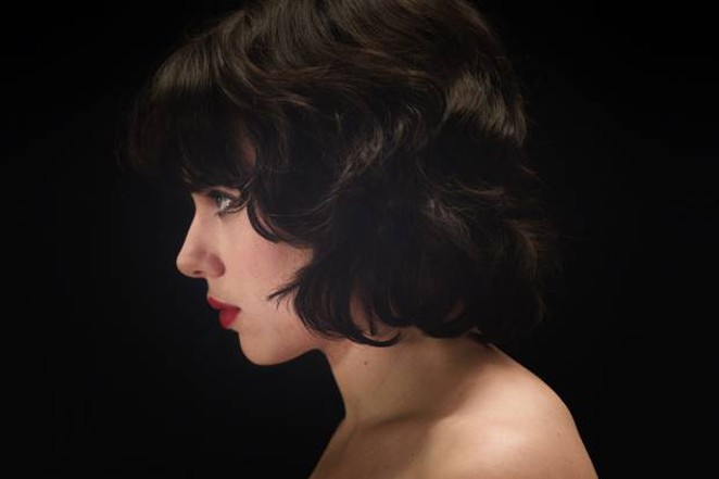 Scarlett Johansson in Under the Skin. - COURTESY