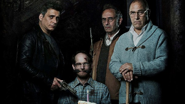 Scenes from the dark comic thriller Big Bad Wolves - COURTESY