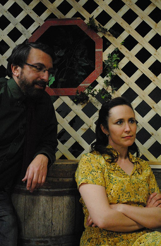 Scott Leibowitz and Kathy Becker in Talley's Folly - COURTESY