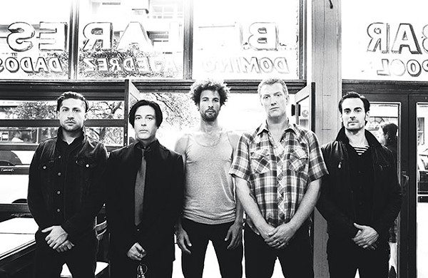 Screw big arenas: Queens of the Stone Age coming to a distinguished theater near you - COURTESY PHOTO