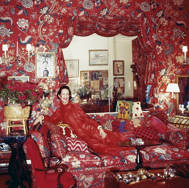 Seeing red: Fashion icon Diana Vreeland - COURTESY PHOTO