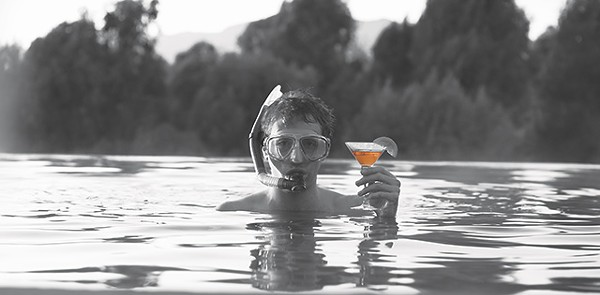 Shakespeare gets wet — Claudio (Fran Kranz) in Joss Whedon's Much Ado About Nothing - COURTESY PHOTO