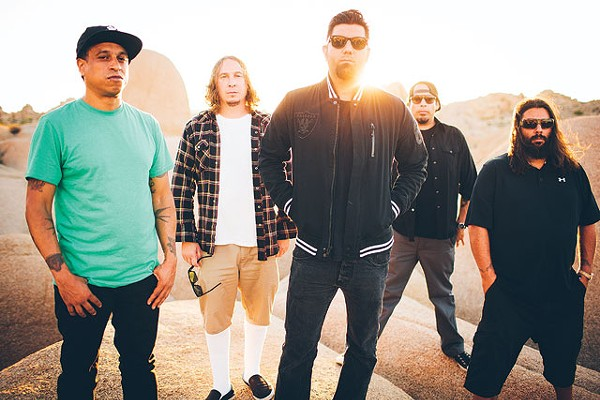 Shove it where the sun shines: Deftones - COURTESY PHOTO