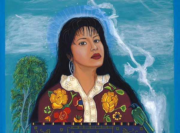 "Slain Tejano singer Selena is featured in ""La Frontera"" exhibit. - COURTESY"