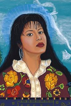 "Slain Tejano singer Selena is featured in ""La Frontera"" exhibit."
