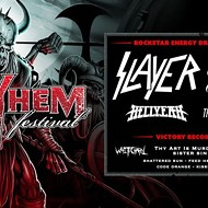 Slayer and King Diamond to Play Whitewater Amphitheater in July