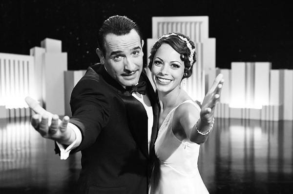 Speechless — Jean Dujardin and Bérénice Bejo in The Artist. - COURTESY PHOTO