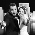 Hazanavicius' ode to cinema is a colorful story in black and white