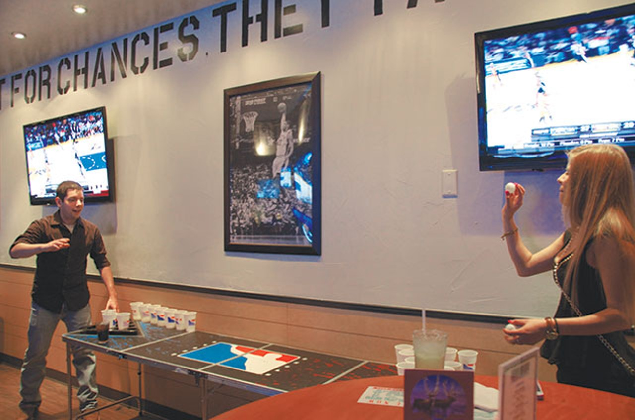 Slackers Nails Sports Arcade Bar Concept Food Amp Drink