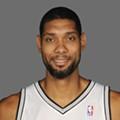 Spurs power forward, Tim Duncan