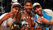 Spurs Top ESPN Magazine's 2014 Best Franchise Poll