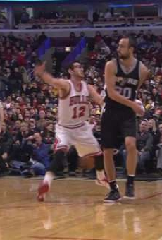 Spurs Vines of the Week: Pop Death Stare, Beer Spill, Behind-the-Back Dish