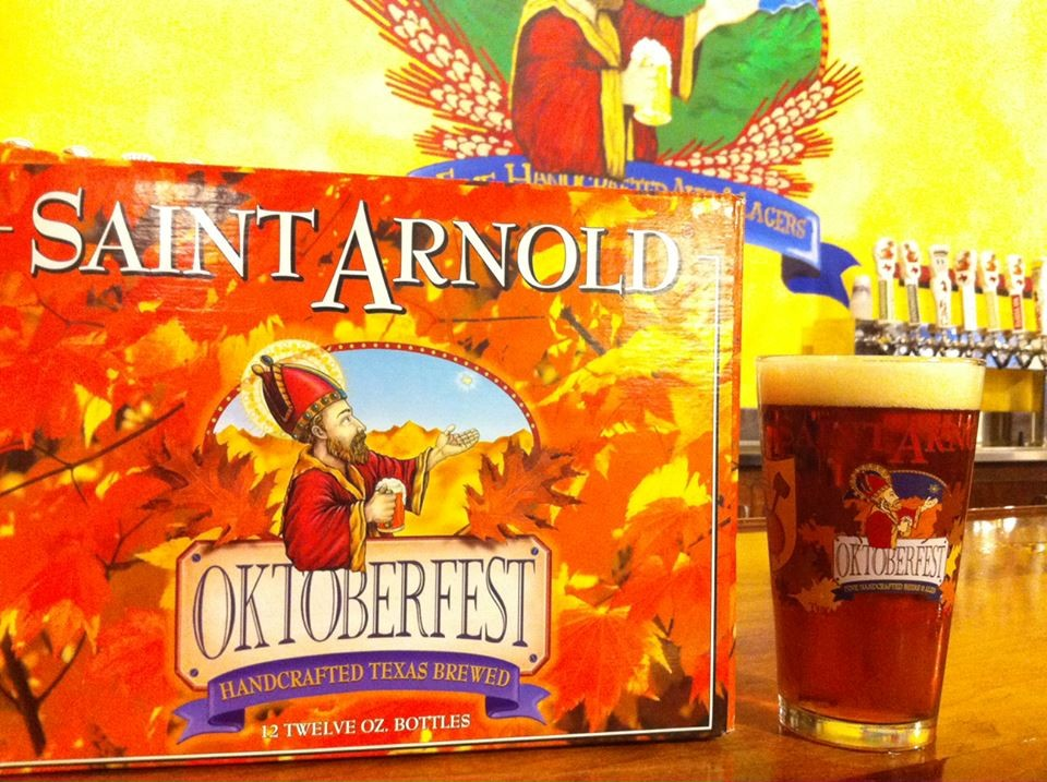 St. Arnold will tap a cask of Oktoberfest for a backyard barbecue at The Monterey