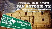 Stand With Texas Women at San Antonio's Sunset Station