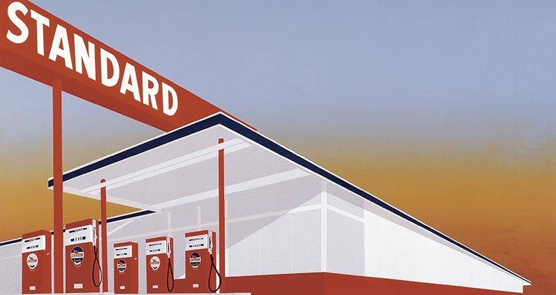 Standard Station, 1966 - ED RUSCHA