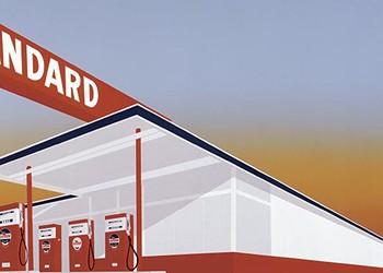 San Antonio Artists Pay Homage to Ed Ruscha's Pop Classic 'Standard Station'