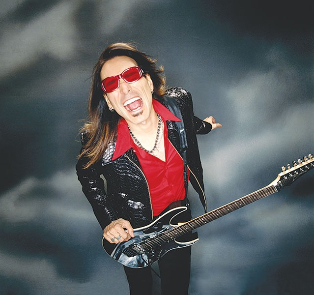 Steve Vai, still in fine form after nearly 40 years of guitar wizardry - COURTESY PHOTO