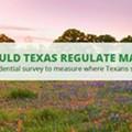 Survey Finds Texans Support Marijuana Regulation