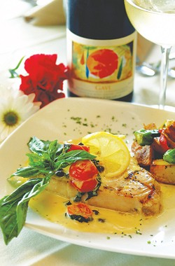 Swordfish Amalfitano from Valentino's di Olmos