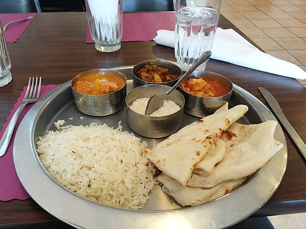 Taste of India offers endless combinations for carnivores and vegetarians alike. - TAYLOR ALLEN