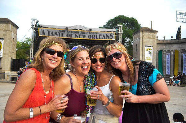 Taste of New Orleans returns to the Sunken Garden Theater this weekend. - FILE PHOTO