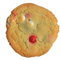 Taste this: Peppermint and White Chocolate Cookie: $1.50