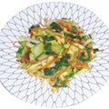 Taste this: Vegetable Stir-fry, $7