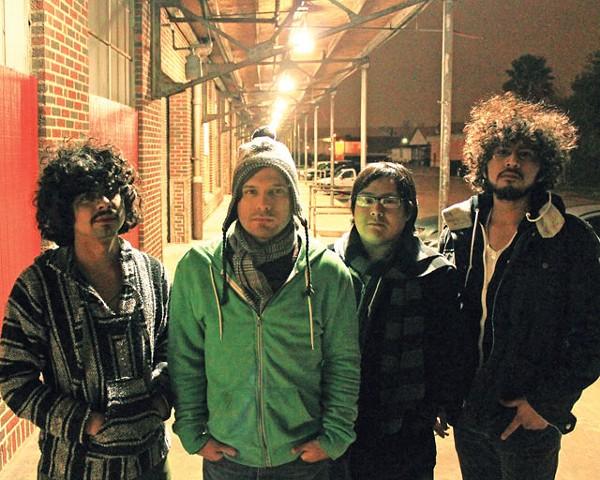Tax the Wolf, from left: Adrian Graniel, Alan Garza, Johnathan Presas, Mario Rodriguez. - COURTESY PHOTO