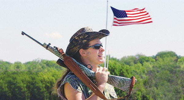 Ted Nugent, poster boy for America's gun-loving crowd - COURTESY PHOTO