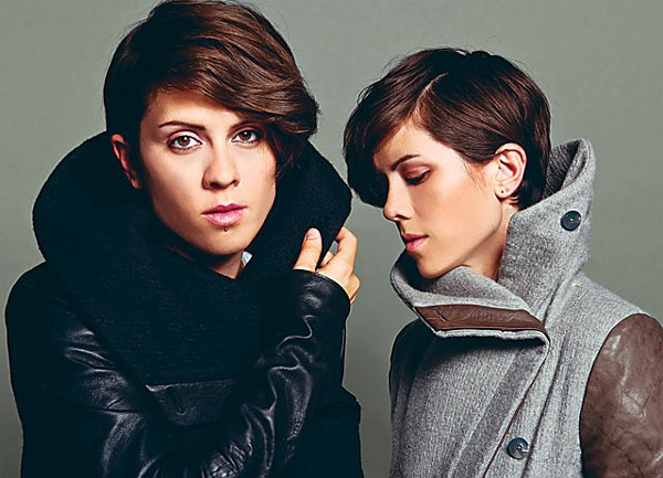 Tegan and Sara perform 3 p.m. at the Waterloo Records Day Party on Wednesday, March 13. - COURTESY PHOTO