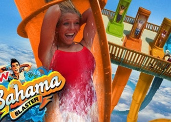 Terrifying New Water Slide is World's Steepest at Six Flags Fiesta Texas