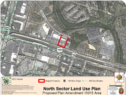 Tesla Motors is asking San Antonio to rezone a five-acre tract on the North Side so it can build a showroom. - CITY OF SAN ANTONIO