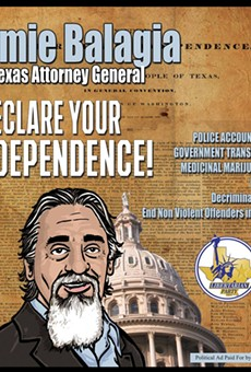 Texas AG Candidate Wants Pot Legalized