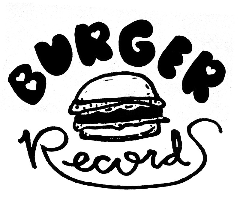 The adorable and delicious logo for Burger Records.