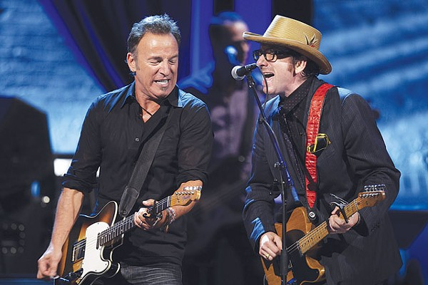 The Boss and the Host rockin' it out on Spectacle. - COURTESY PHOTO