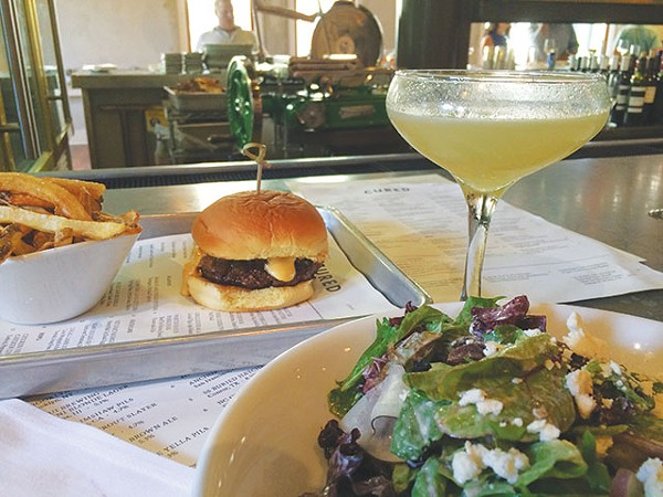 The burger is reason alone to sneak out of work - JESSICA ELIZARRARAS