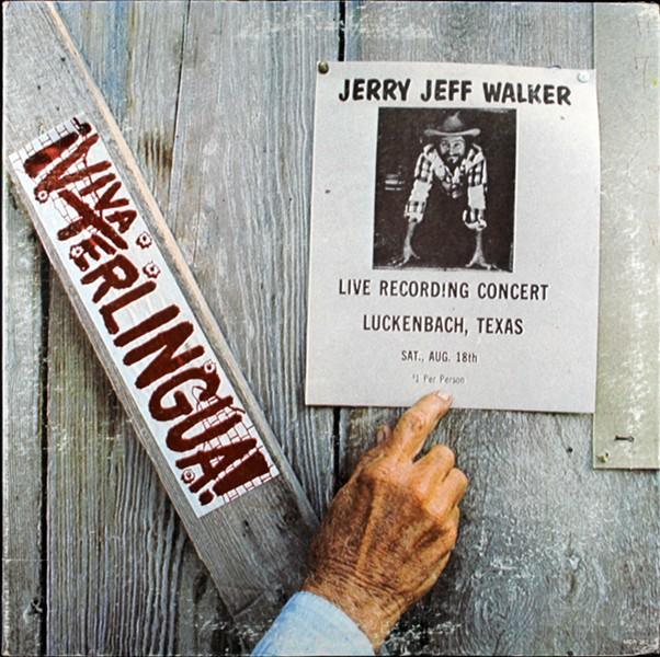 The cover for Jerry Jeff Walker's '¡Viva Terlingua!'