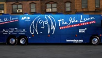 The John Lennon Educational Tour Bus stops in SA today
