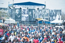 COURTESY PHOTO - The MLK Day March in SA attracts aproximately 100,000 participants
